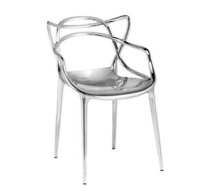 Kartell Chaise Masters Metallise Precious Collection Design Philippe