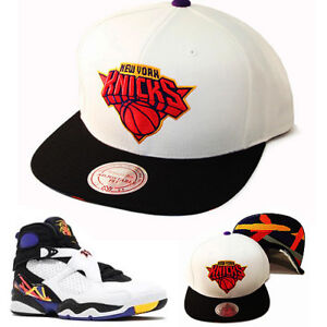 buy online 1d74b dde8e Image is loading Mitchell-amp-Ness-NBA-New-York-Knicks-Snapback-