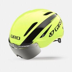 CASCO-GIRO-AIR-ATTACK-SHIELD-GIALLO-FLUO-NERO-Size-S-51-55-cm