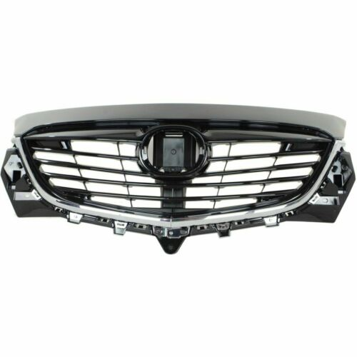 With Chrome Molding Black for 2013 2014 2015 Mazda CX-9 Front Grille