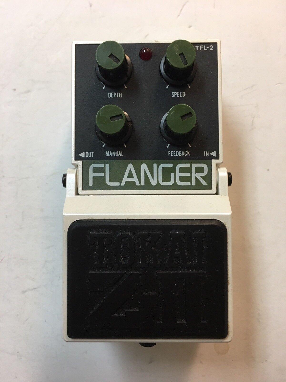 Tokai TFL-2 Z-II Analog Flanger Rare Vintage Guitar Effect Pedal MIJ Japan