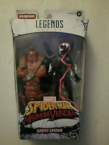 NIB-Marvel-Legends-maximale-Venom-6-Zoll-Ghost-Spider-Actionfigur-venompool-BAF