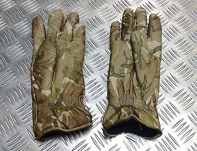 Genuine British Military MTP Multicam Leather Combat Gloves MK2 MVP Grade 2