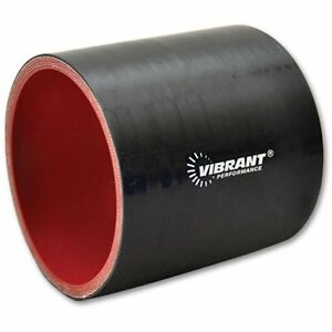 """Red Vibrant 4 Ply Reducer Coupling 4/"""" x 5/"""" x 3/"""" long"""