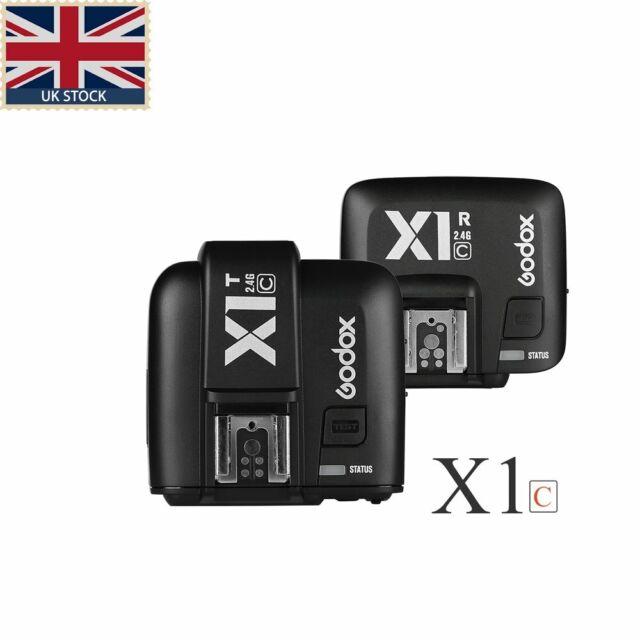 3*Receivers Set For Nikon UK Godox X1N 2.4G TTL 1//8000s Wireless Flash Trigger