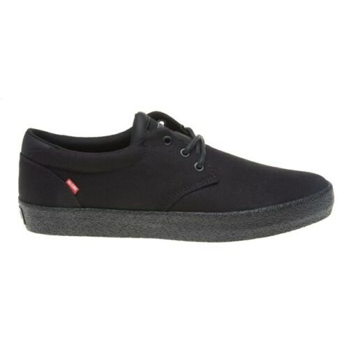New Mens Globe Black Gs Canvas Trainers Skate Lace Up