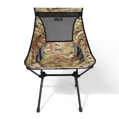 Helinox Camp Chair Multicam Camo Lightweight Compact Motorcycle Camping