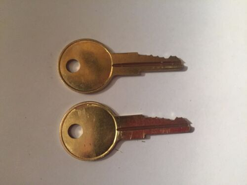 2 Husky-Home Depot Toolbox Keys Code Cut R601 to R620 Tool Box Lock Key
