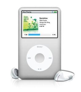 Silver New Apple iPod classic 7th Generation 120GB (Lastest Model) Warranty
