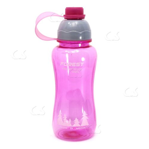 Rose Réutilisable Transparent Wide-Mouth couvercle /_ 72-03P Sports boisson bouteille d/'eau 20 oz environ 566.98 g