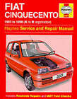 Fiat Cinquecento Service and Repair Manual by Steve Rendle, Spencer Drayton (Hardback, 1998)