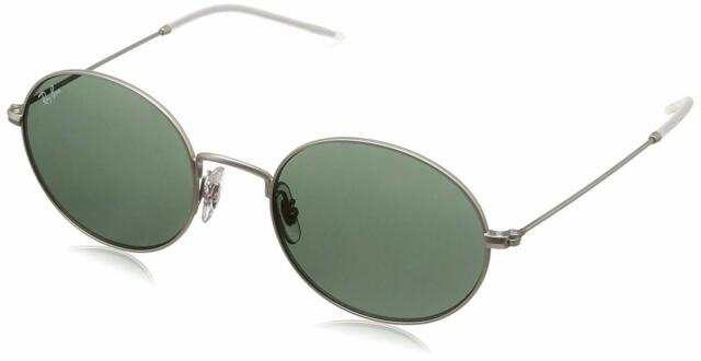 Rb3594 Beat Sunglasses Silver Ray 911671 Round 53mm Lens Ban Classic Green Tone L4j5AR