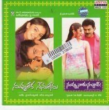 (BK222) Nuvvu Leka Nenu Lenu / Nuvvu Naaku Nac- 2002 CD