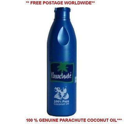 100% Pure parachute Coconut Oil 100,200,250,500ml Edible,Hair,Skin Moisturiser