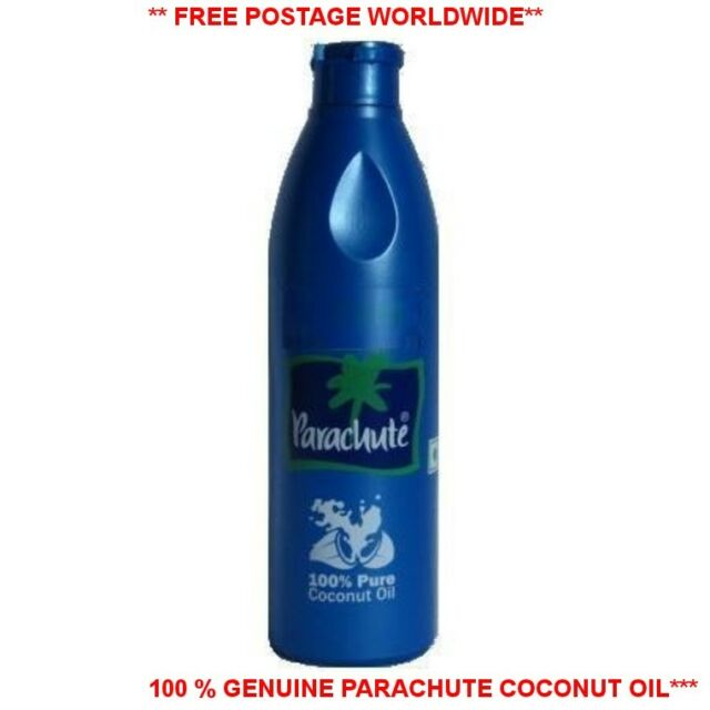 100% Pure parachute Coconut Oil 100,200,250,500ml Edible,Hair,Skin Moisturiser