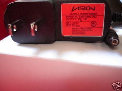 NIB VISION 12V Power Supply D48-12-1000D TER//C21-12V