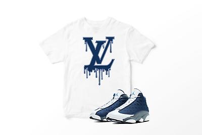 Custom T Shirt To Match Air Jordan 13 Flint Shoe Vl Drip Size S