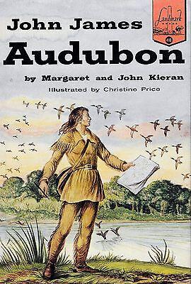 John James Audubon by John Kieran and Margaret Ford Kieran (1954, Hardback)
