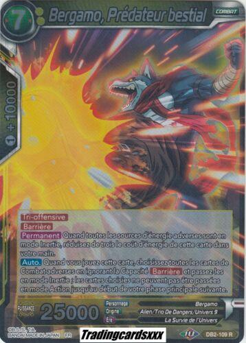 ♦Dragon Ball Super♦ Bergamo DB2-109 R Prédateur bestial