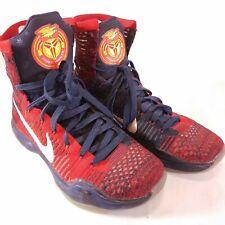 0981606bae5 Nike Kobe X 10 Elite USA American University Red White Blue 718763 ...