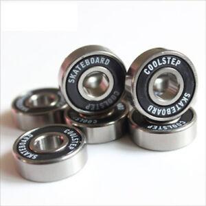 Skateboard-Bearing-Ceramic-Sealed-Gcr15-Ball-Bearings-Multi-Size-ABEC-9-ABEC-11