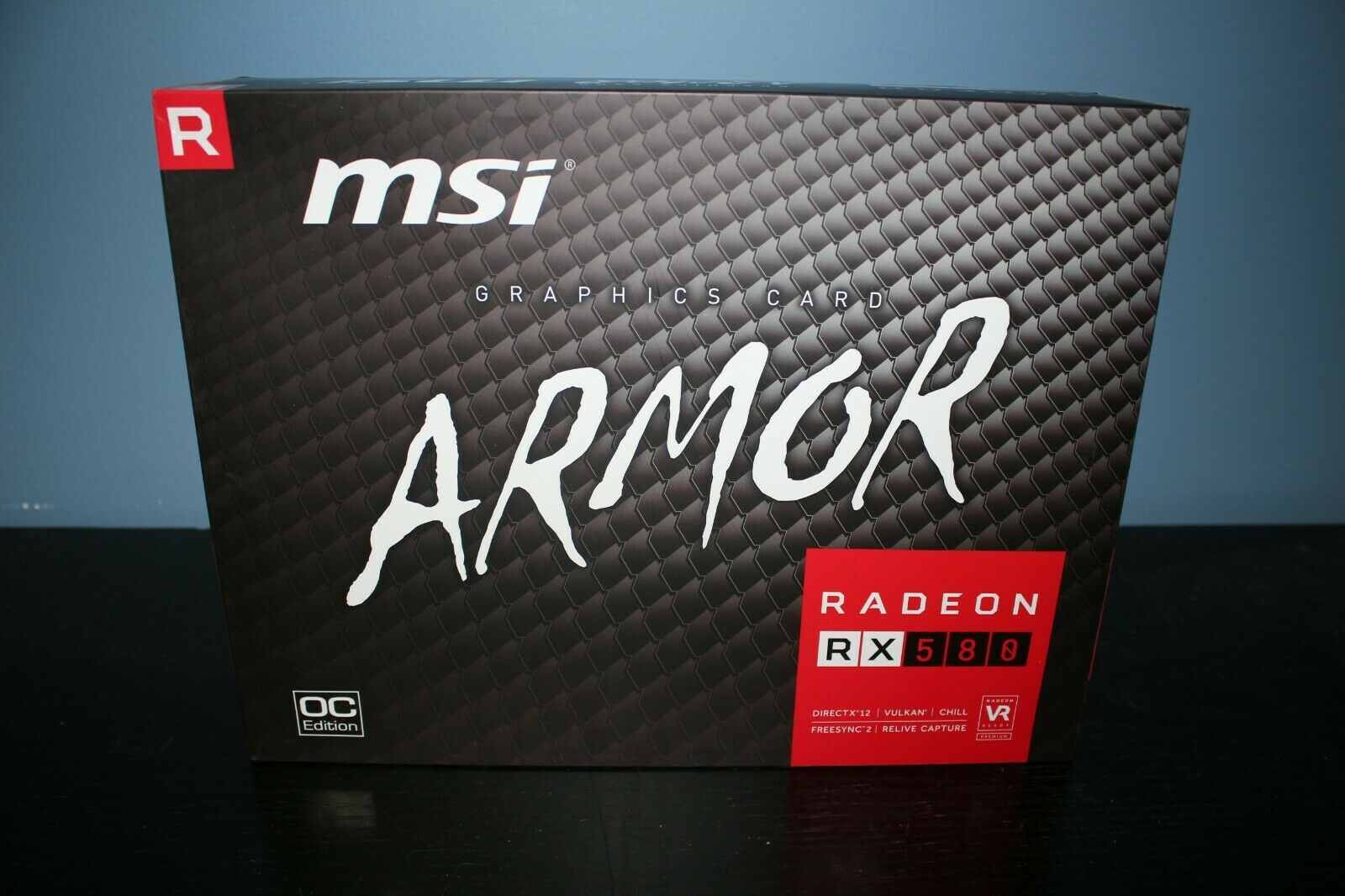 MSI AMD Radeon RX580 ARMOR 8GB GDDR5 OC Edition Graphics Card 2
