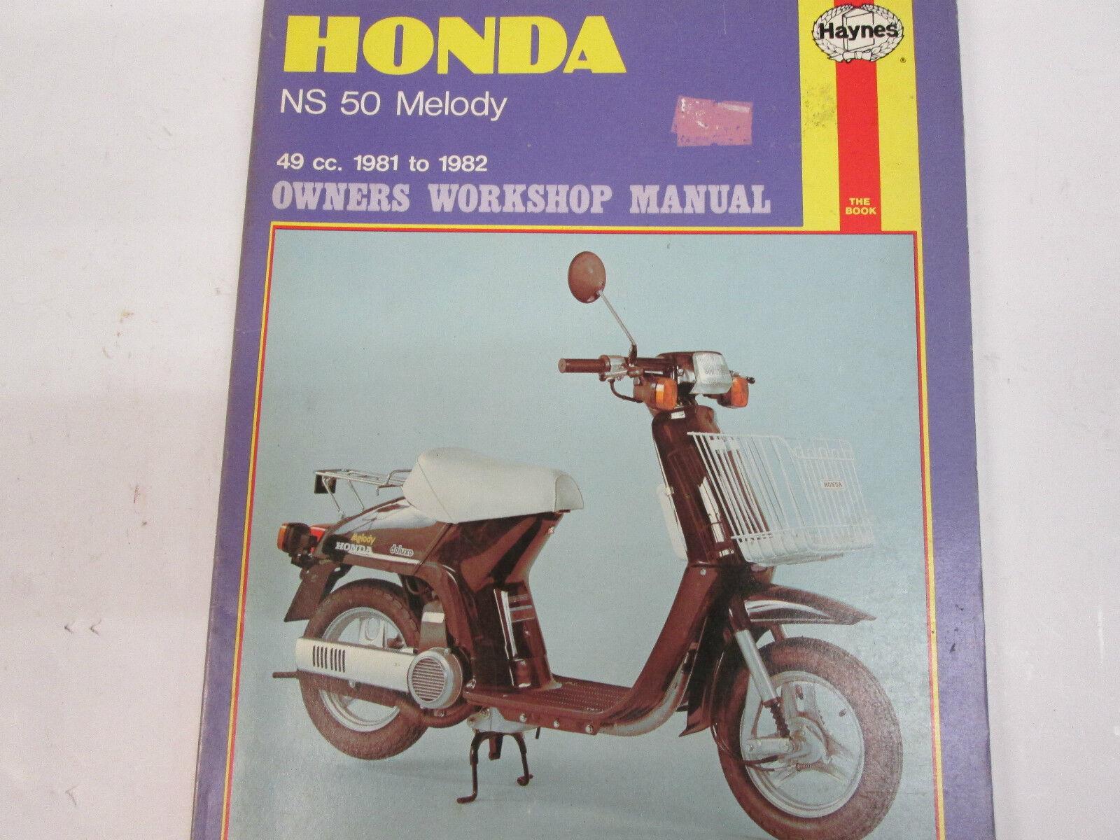 Haynes Workshop Manual Honda Shadow VT600 /& V7T50  Service /& Repair