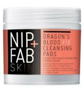Nip-Fab-Skin-Dragons-Blood-Cleansing-Pads-Hydrate-Cleanse-Restore-Wrinkles-Acne