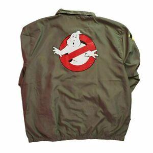 Ghostbusters-Windbreaker-Jacket-XL-HALLOWEEN-SPECIAL-WHO-YA-GONNA-CALL