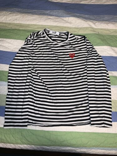 Commes Des Garcons Striped Longsleeve Shirt