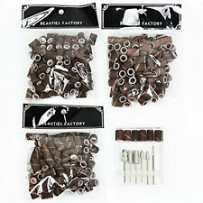 "300PCS New Nail Art Drill 80""120""180"" Sanding Band Machine Replacement Bits #71X"