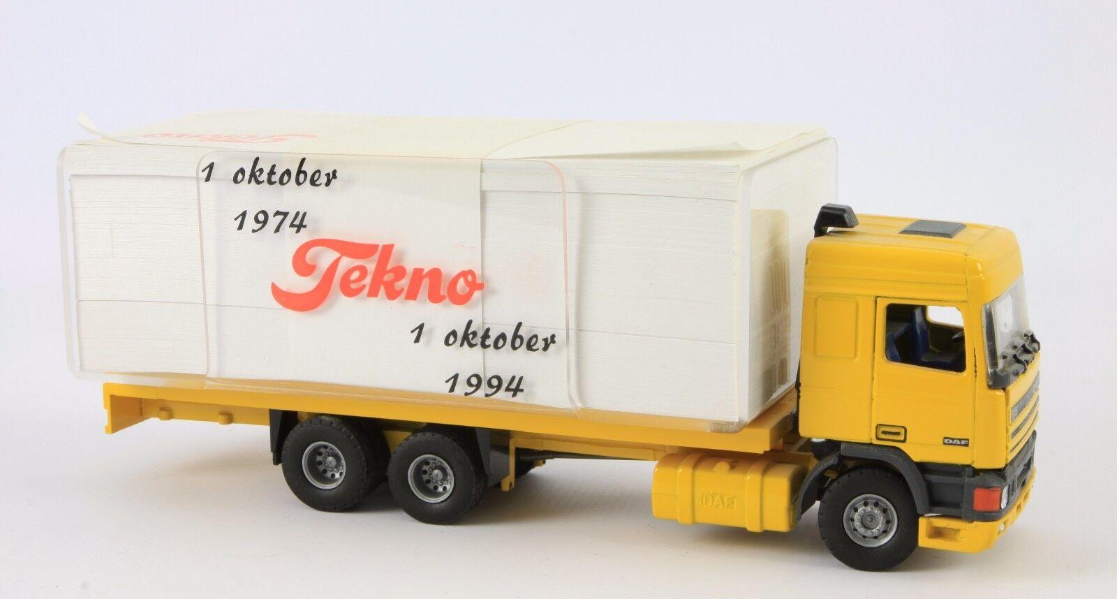 Para tu estilo de juego a los precios más baratos. Tekno Holland DAF 95 Tekno 1974-1994 20 years 1 50 50 50  punto de venta barato
