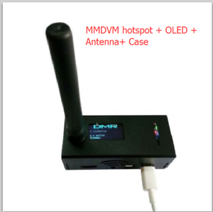 UHF-VHF-MMDVM-hotspot-OLED-Antenna-Case-Support-P25-DMR-YSF-for-Raspberry-pi