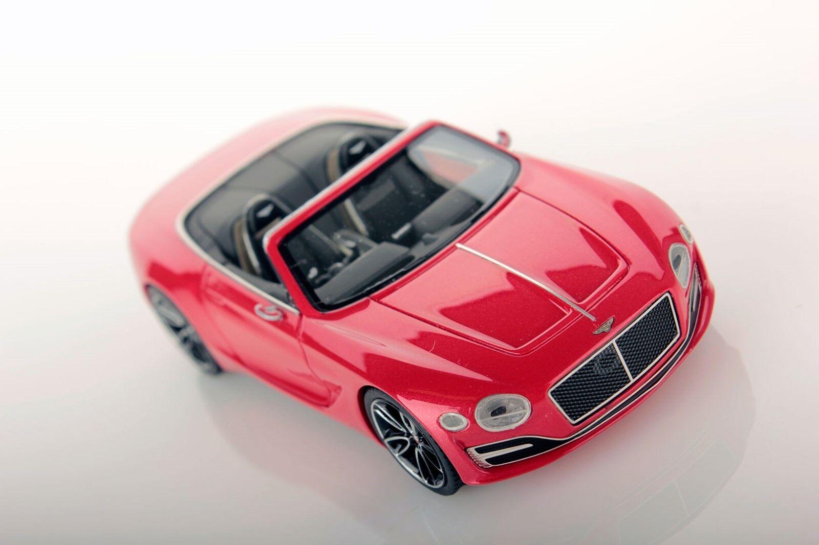 Bentley EXP 12 speed 6e St  James rouge Lookintelligent 1 43 no MR BBR    nouveau    nouveau  Style classique
