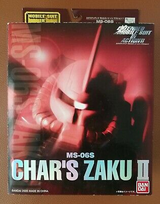 Extended Mobile Suit In Action! MSIA MS-06F ZAKU II Figure EMSIA MIA BANDAI New