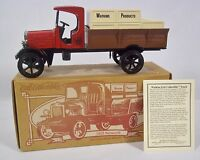 Ertl 1925 Watkins Kenworth Truck Die Cast Coin Bank Delivery Truck Replica