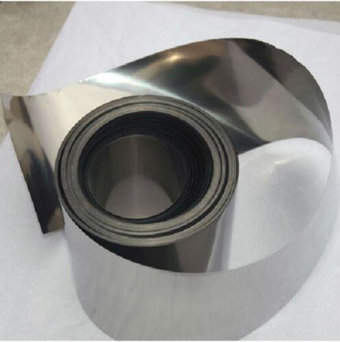 US Stock 0.03mm x 100mm x 1000mm 99.995/% Pure Iron Foil Fe Thin Sheet