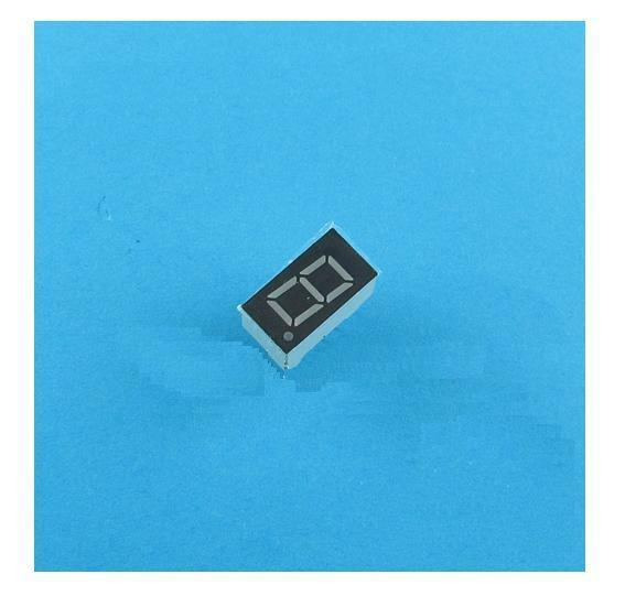 10PCS 0.56 inch 1 digit Blue Led display 7 segment Common cathode