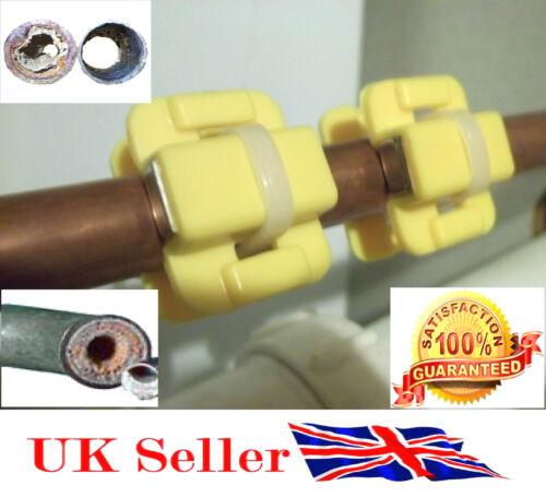 Nouveau Magnétique Adoucisseur d/'Eau Revitalisant calcaire Remover bricolage X 2 Paire UK