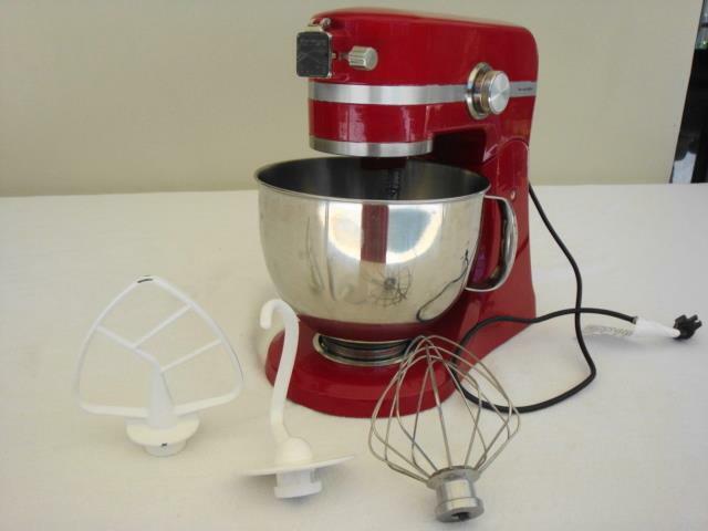 Rouge Kenmore Elite robot mélangeur 89208-Excellent-PDSF  250