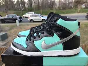 c1511b94ff 100% Authentic Brand New Nike SB Dunk High Diamond Tiff&Co 653599 ...