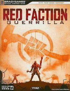 Red Faction Guerilla by THQ Staff and BradyGames Staff (2009, Paperback)