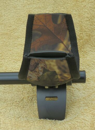 CAMO NEOPRENE ARM CUP COVER TO FIT A MINELAB EQUINOX METAL DETECTOR