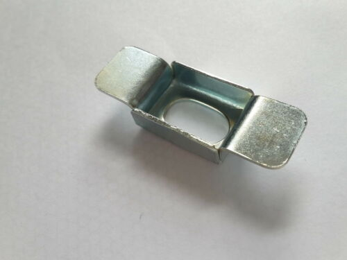 Vintage Steel Rear Inner Wing Wheelarch Square Captive Nut Cage Long Slot Type