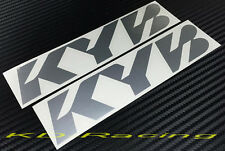 KYB Sticker Decals Kayaba Coil Spring Excel G AGX Shocks Suspension Free Ship
