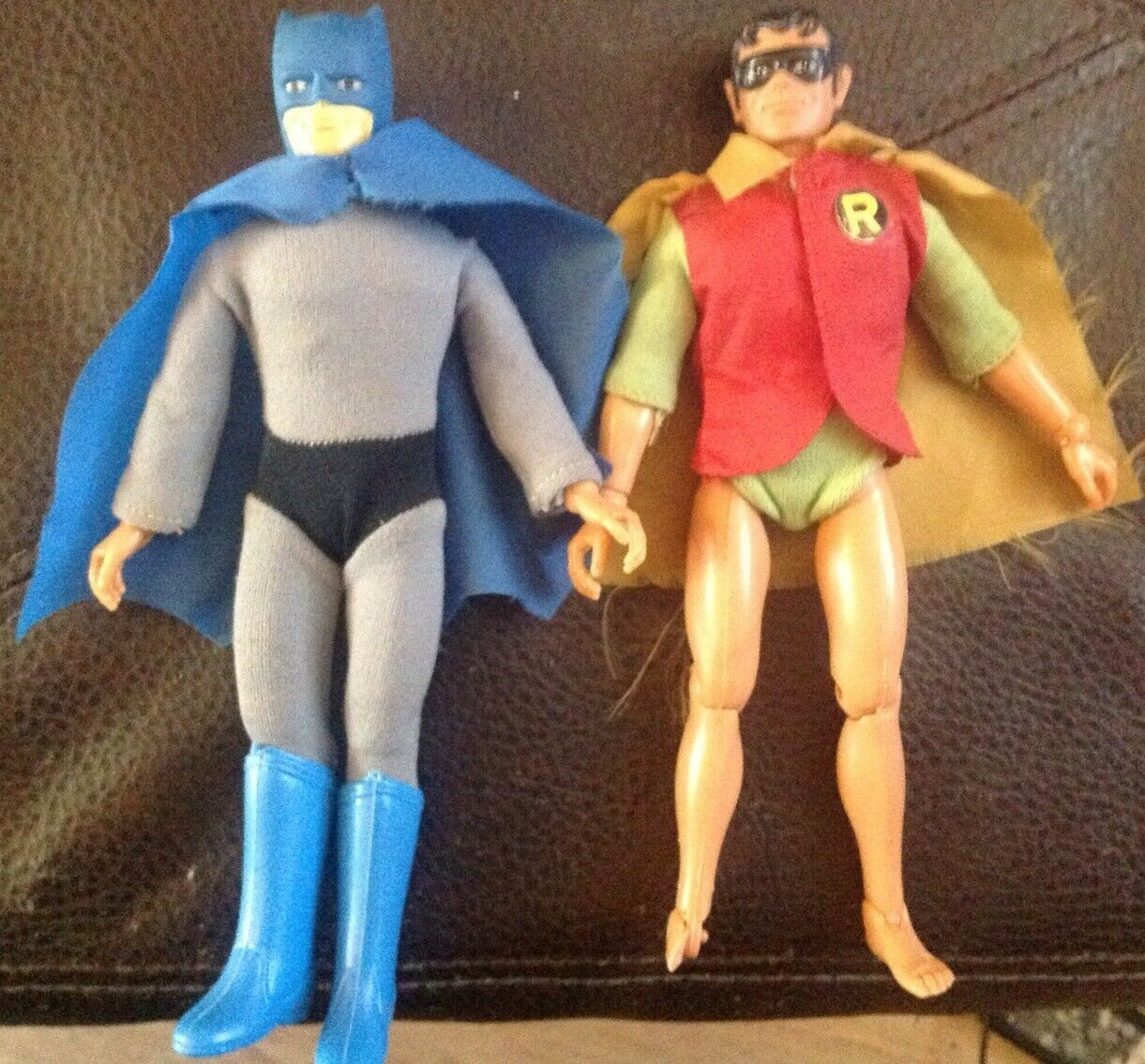 Mego 70s Batman And Robin Type 2 Retirosso Crimefighters