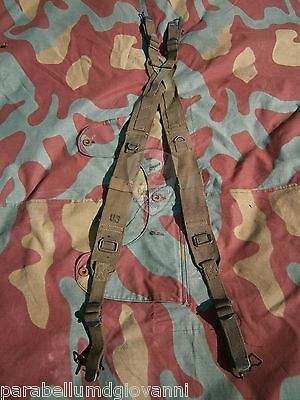 Spallacci M44 originali US Army, original suspender straps bretelle WW2