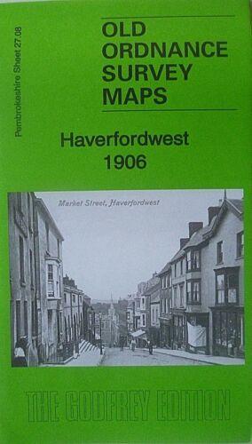 Old Ordnance Survey  Detailed Maps Haverfordwest 1906 Godfrey Edition New Offer