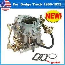 Carburetor Fit Plymouth models & Dodge Truck 1966-1973 with 273-318 engine