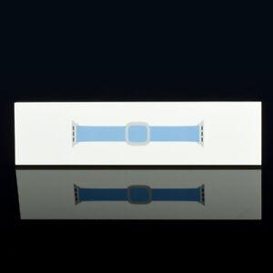 Apple Watch 38mm 40mm Series 1 2 3 4 5 6 Leather Modern Band - Cornflower S - L